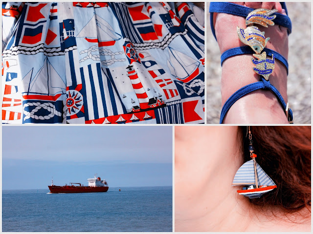Segelschiff Ohrringe