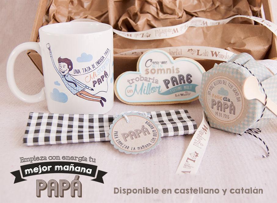 Lola wonderful regalos personalizados y dise o para - Que regalar a un padre ...