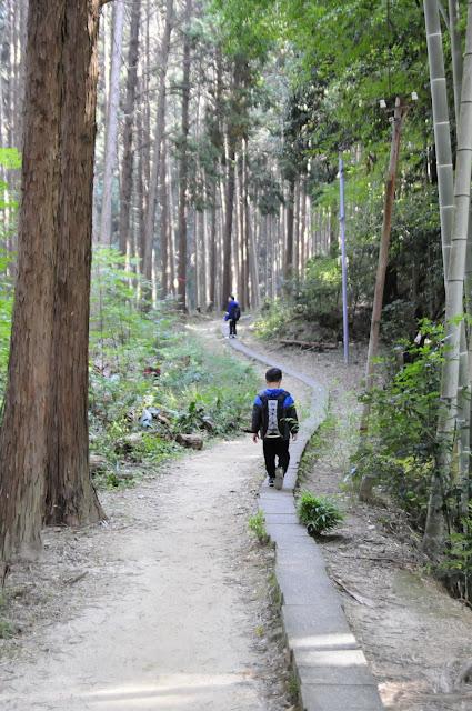 Hiking at Fushimi Inari