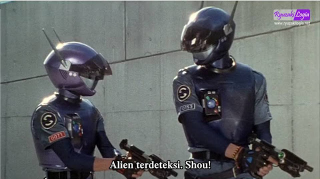 Blue SWAT The Movie Subtitle Indonesia