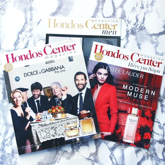 Hondos center Christmas magazine