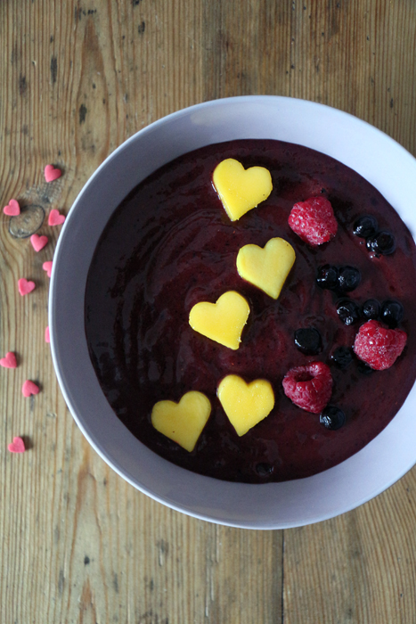 Valentins Smoothie Bowl