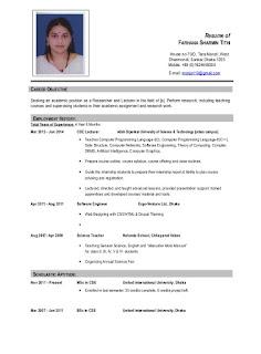 रिज्यूम फार्मेट 2 मिनट मे कैसे बनाए resume format for job interview
