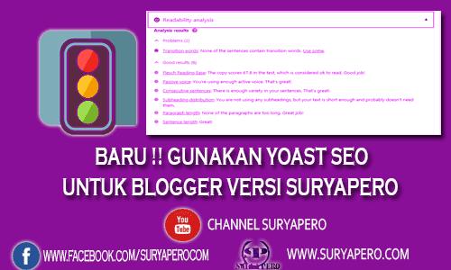 cara setting yost seo menggunakan blogger terbaru tahun ini