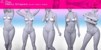 Z Sexy Body Shapes for Genesis 8 Female