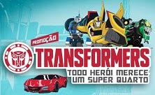 Cadastrar Promoção Transformers 2016 Super Quarto