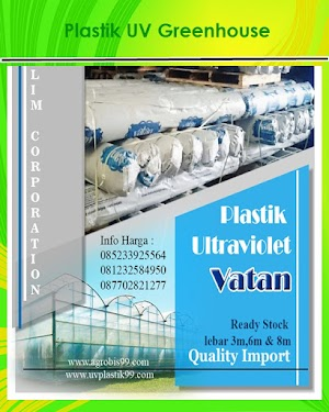 Plastik UV Greenhouse Vatan