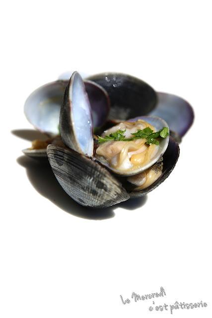 Coquillages sauce marinière