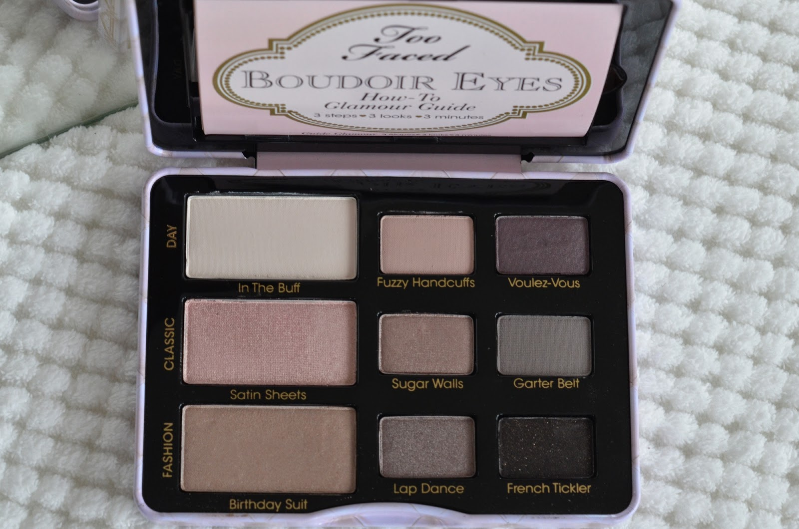 Too Faced Boudoir Eyes Sephora Review Swatches