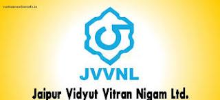 JVVNL Recruitment 2018,Helper-II,2412 posts