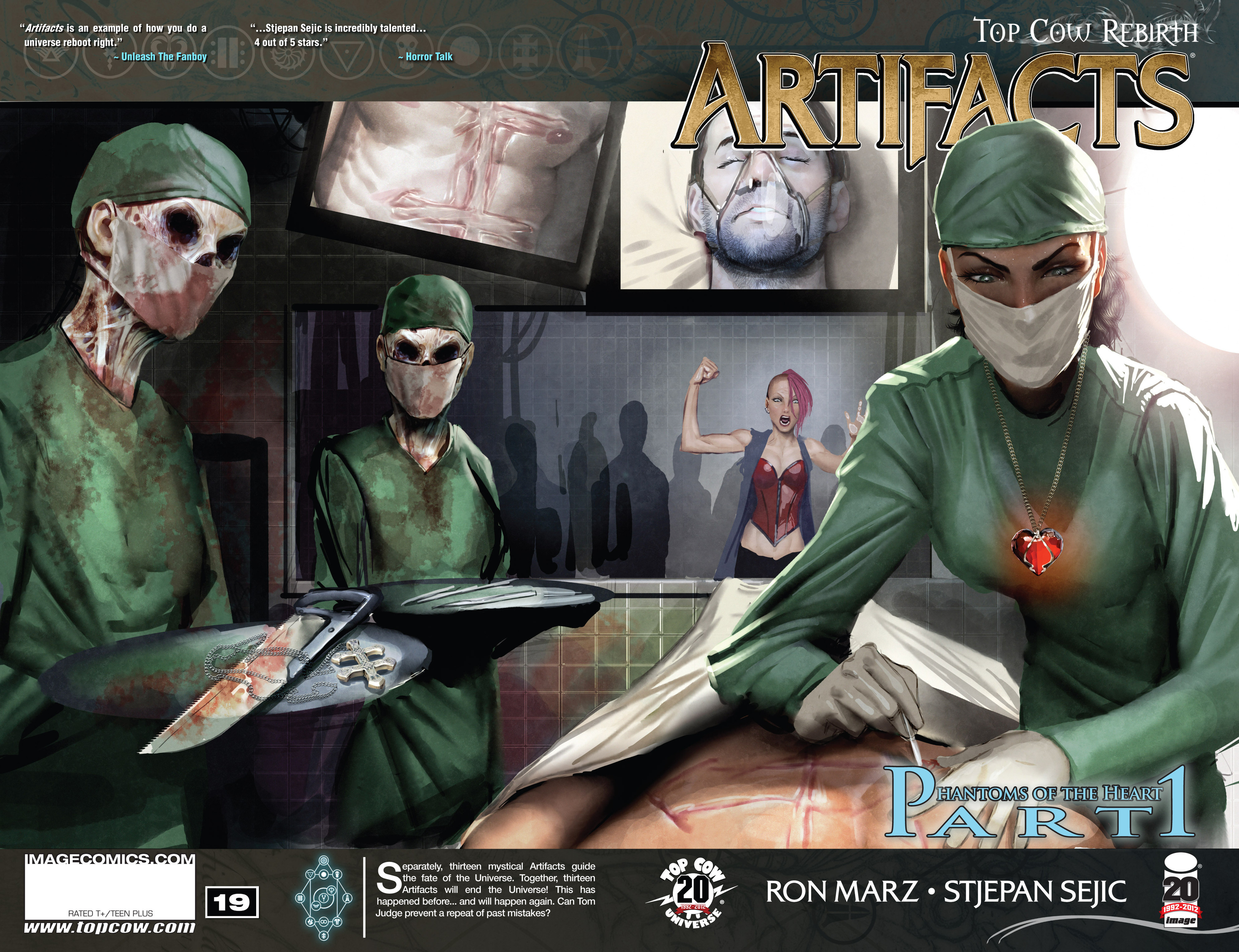 Read online Artifacts comic -  Issue #19 - 1