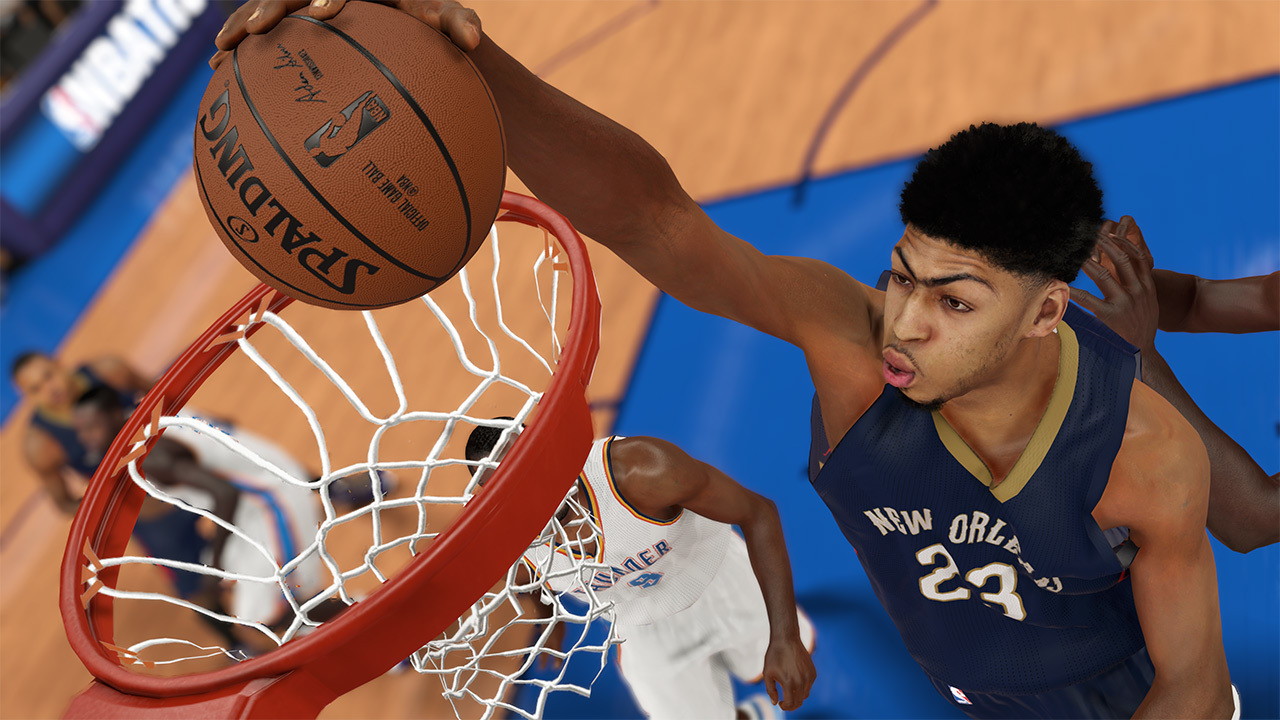 NBA 2K15 Anthony Davis