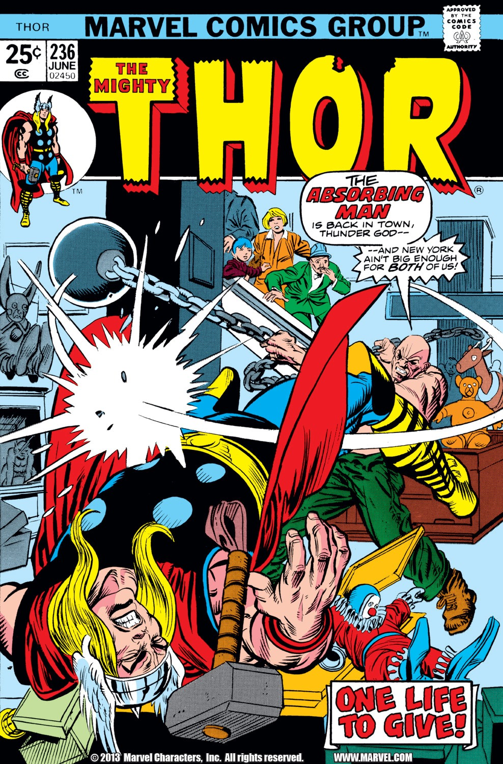 Thor (1966) 236 Page 1