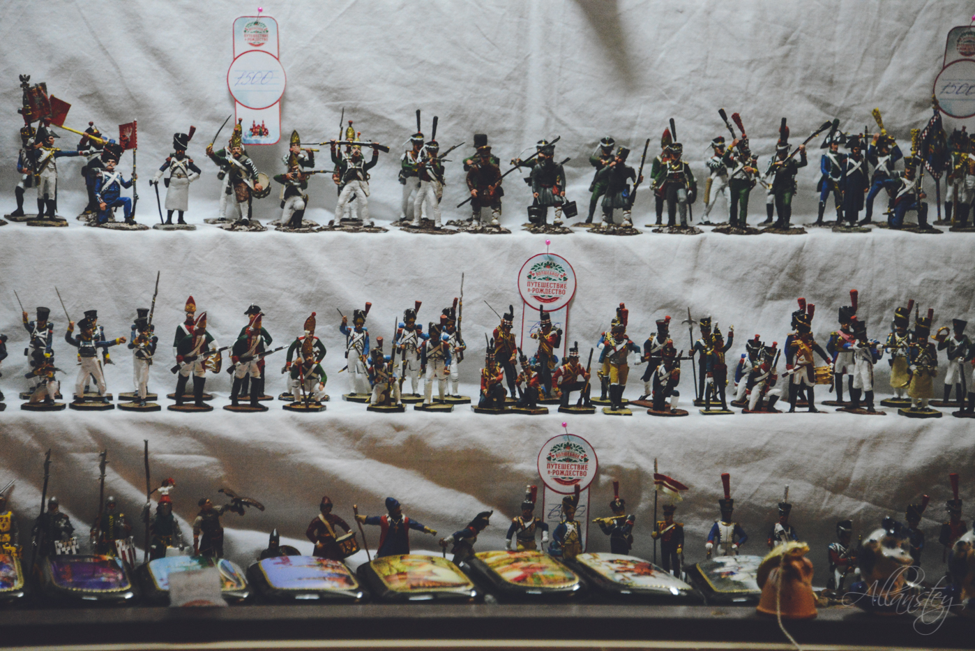 Russian souvenirs: toy soldiers