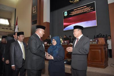 Bupati Ucapkan Selamat Untuk Anggota DPRD Pengganti Antar Waktu Sisa Masa Jabatan Tahun 2014-2019.
