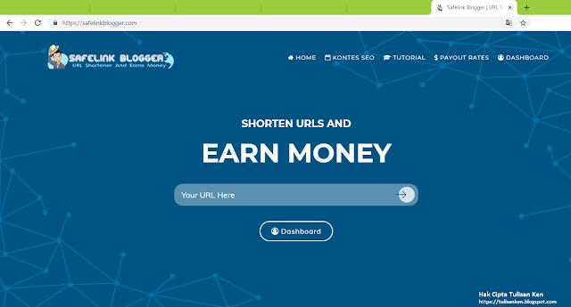 Review Safelink Blogger - Shortener Terkece dan Bayaran CPM Tinggi