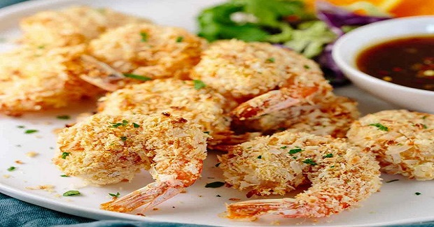 Crunchy Baked Coconut Shrimp With Orange Sauce Recipe