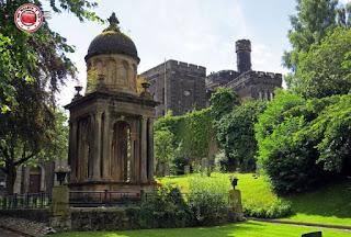 Escocia, Stirling, iglesia Holy Rude
