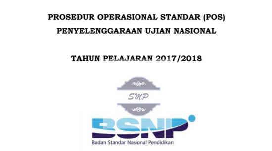POS UN 2018 SMP, MTs, SMPTK, SMPLB, SMPT