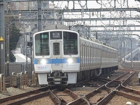 小田急電鉄 準急 新宿行き6 3000形ゴシック表示+1000形フルカラーLED