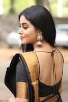 Poorna in Cute Backless Choli Saree Stunning Beauty at Avantika Movie platinum Disc Function ~  Exclusive 037.JPG