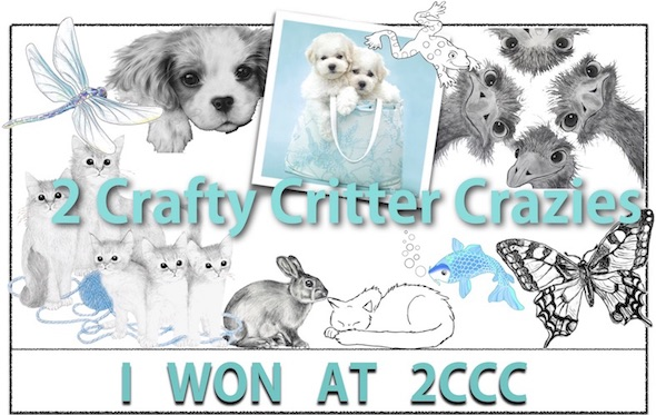 Winner #31   2 crafty critter crazies
