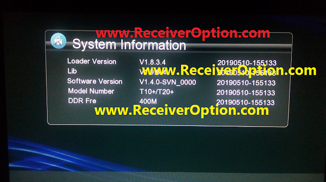 ICONE T10+ T20+ HD RECEIVER POWERVU KEY SOFTWARE NEW UPDATE