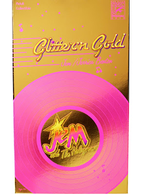 "San Diego Comic-Con 2013 Exclusive ""Glitter N' Gold"" Jem Doll Packaging by Hasbro"