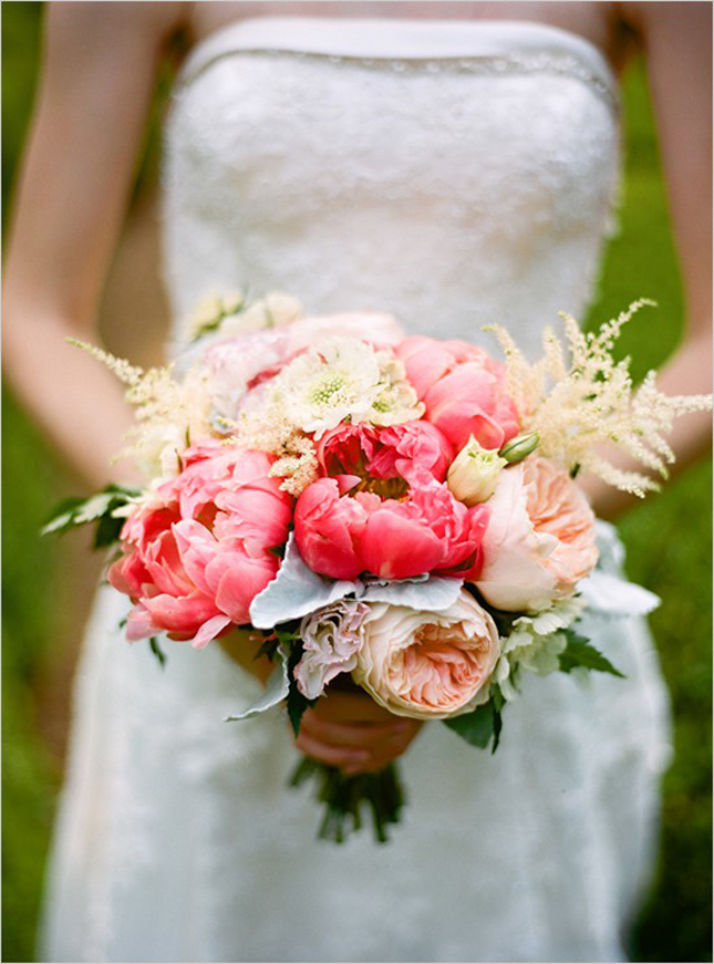 here is part 2 - Garden Rose And Peony Bouquet