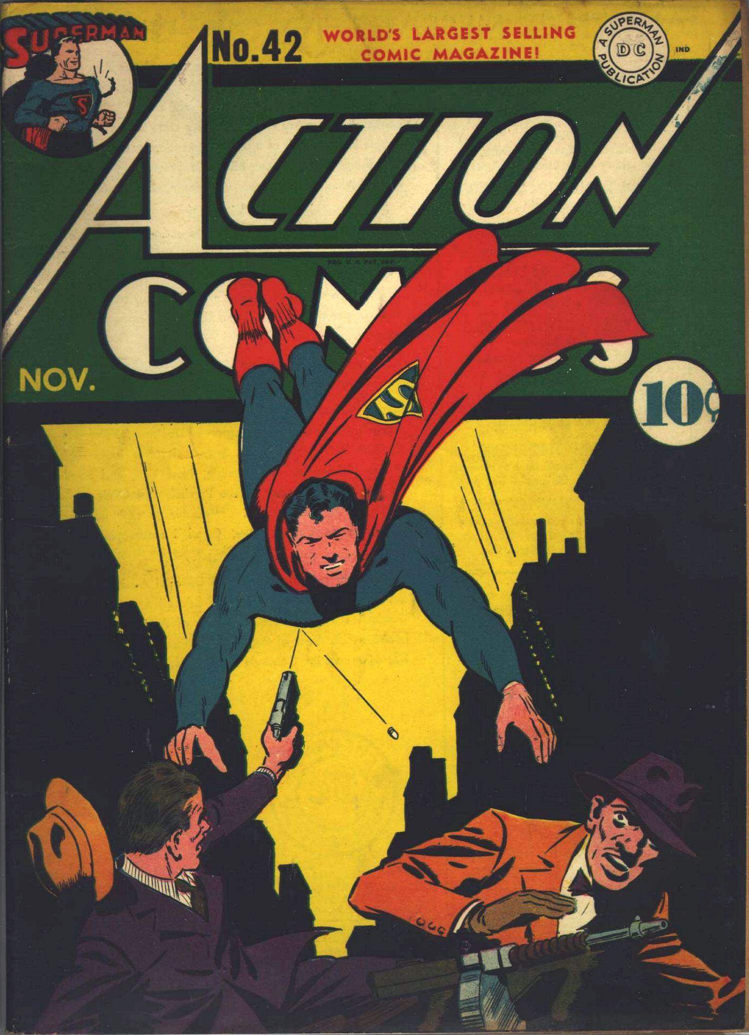 Action Comics (1938) 42 Page 0