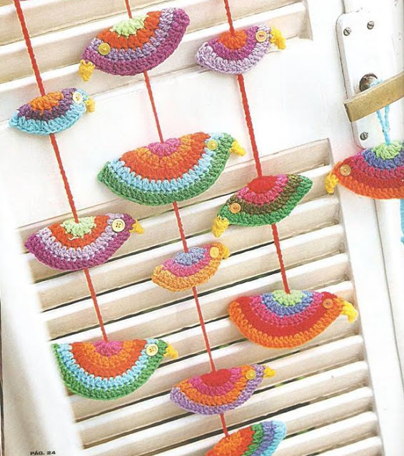 38 Patrones para Decorar a Ganchillo o Crochet