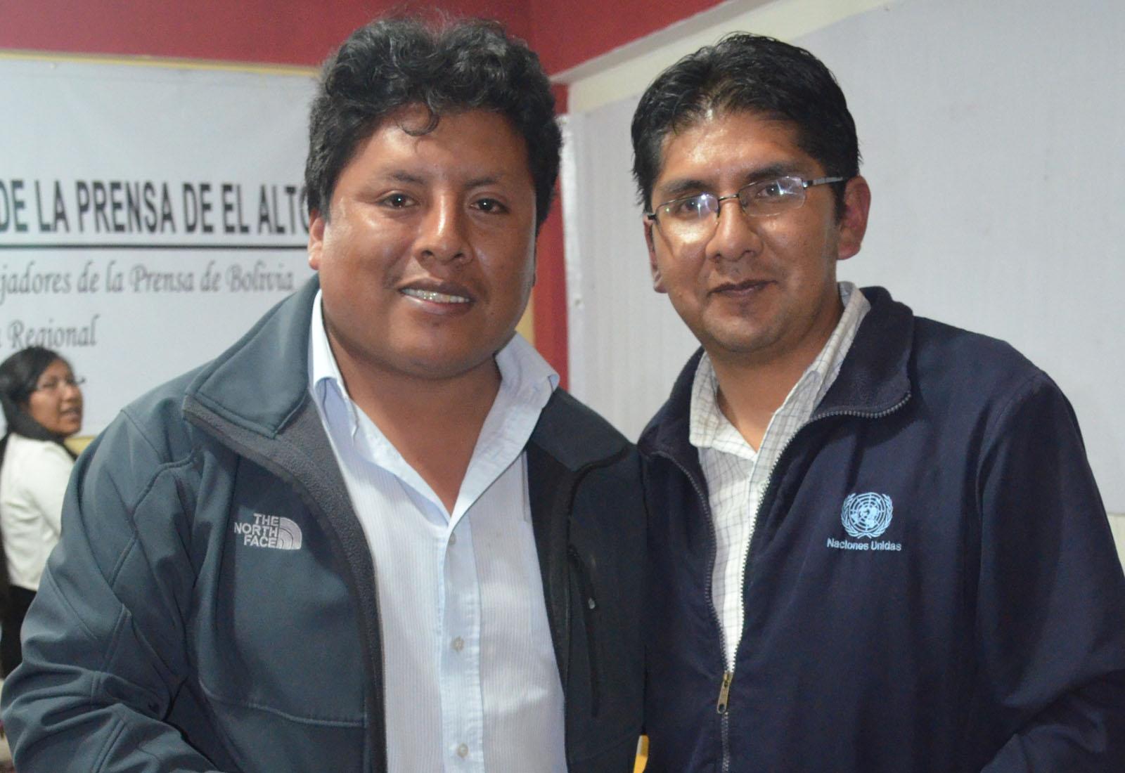 Pablo Peralta y Wilfredo Jordán dictarán el seminario sobre tecnología