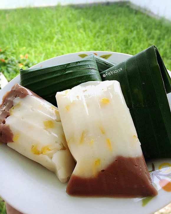 Resep Membuat HunKwe Nangka 2 Rasa. Paling Enak Makan HunKwe Yg Sudah di Dinginkan di Kulkas, Makan 1 Sih Gak Cukuppp