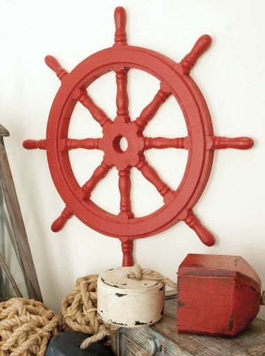 Ship Wheel Wall Decor Ideas
