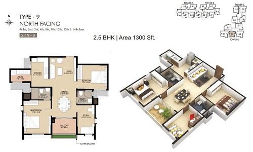 Unicon North Brooks 46 Floor Plan