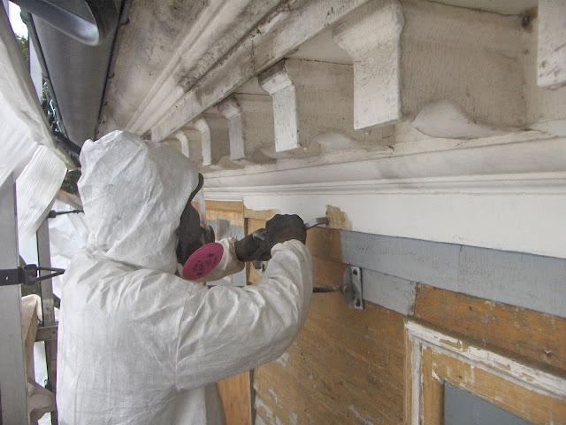 Comment enlever de la peinture au plomb