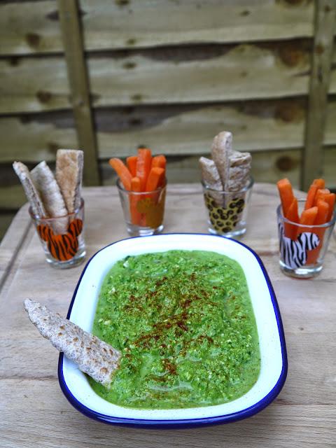 The Betty Stamp Lifestyle Blog Pea Kale Gruyere Dip Recipe