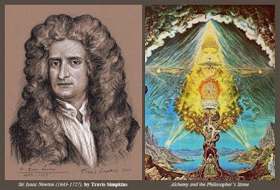 Sir Isaac Newton. by Travis Simpkins. Alchemy and the Philosopher's Stone. Freemasonry