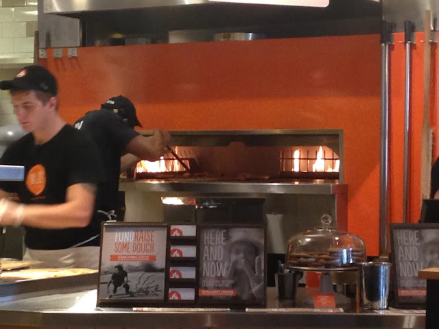 Desperately Seeking Gina and Blaze pizza