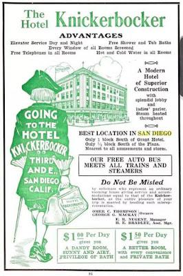 Hotel Knickerbocker, San Diego
