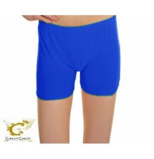 http://stylewar.co.uk/Girls-Shiny-Royal-Blue-Hot-Pants