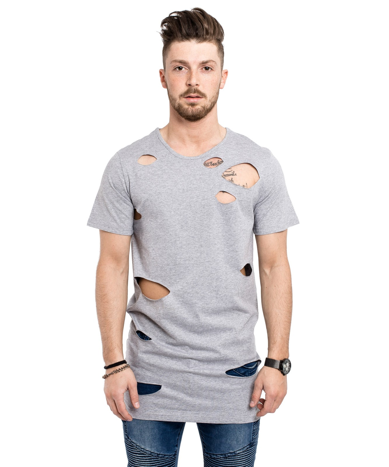 Camiseta Destroyed Masculina