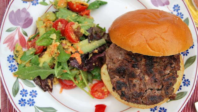 Best burger recipe, photo by modern bric a brac