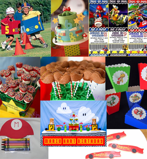Southern Blue Celebrations: Super Mario Party Ideas