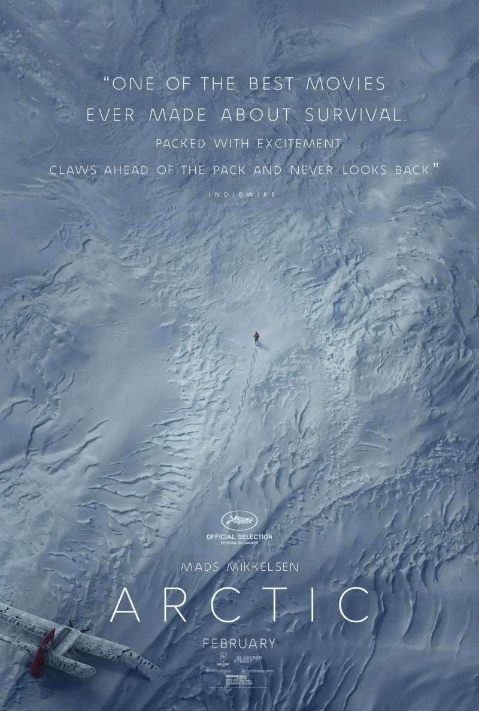 mads mikkelsen arctic poster