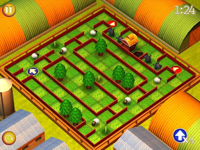 Running Sheep Tiny Worlds Game Petualangan Domba ala Shaun the Sheep
