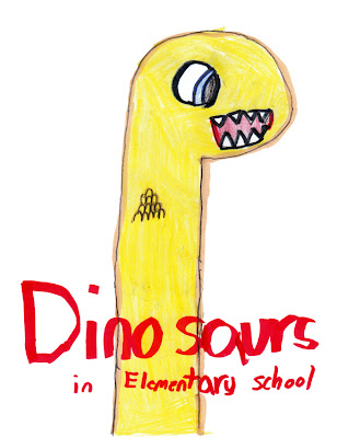 Dinosaurs in Elementary school book