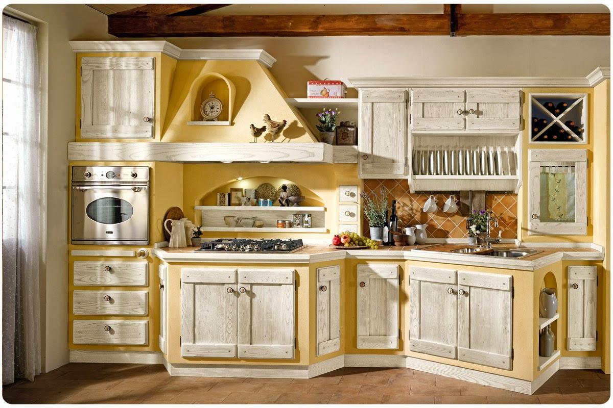 Fotos de cocinas en estilo cl sico colores en casa for Cocinas clasicas pequenas
