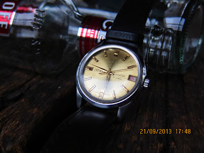jam & watch: Citizen New Master - Gold Dial-Dauphine Hands (Sold)