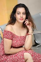 Diksha Panth in a Deep neck Short dress at Maya Mall pre release function ~ Celebrities Exclusive Galleries 120.JPG